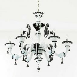 """Stefania"" Murano glass chandelier"