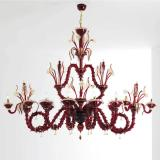 """Cleofe"" Murano glass chandelier"