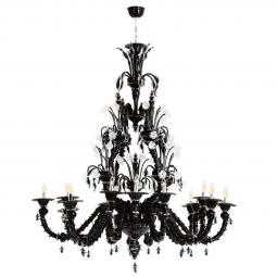 """Odino"" Murano glass chandelier"