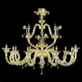 """Arabesque"" Murano glass chandelier"