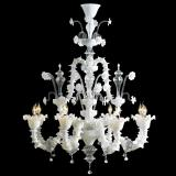 """Alessandra"" Murano glass chandelier"