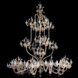 """Fenrir"" Murano glass chandelier"