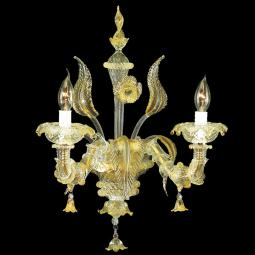 """Cinzia"" Murano glass sconce"