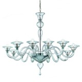 """Doge"" large Murano glass chandelier"