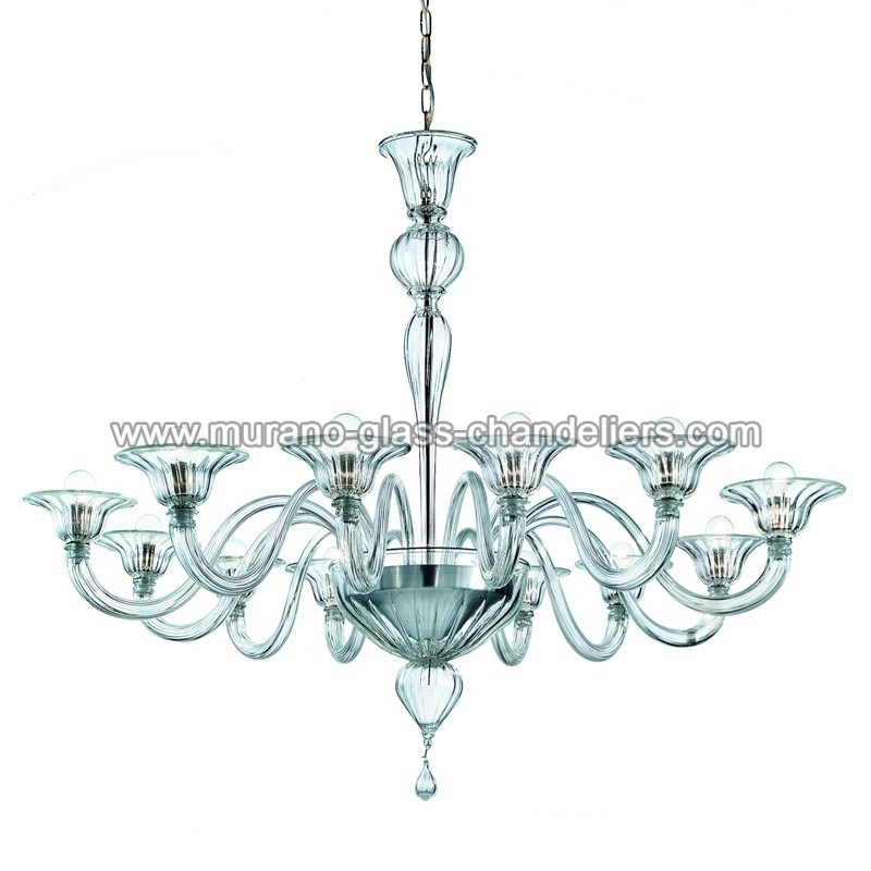 "Murano Glass Chandelier Large: ""Doge"" Large Murano Glass Chandelier"