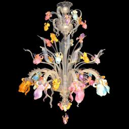 """Letizia"" Murano glass chandelier"
