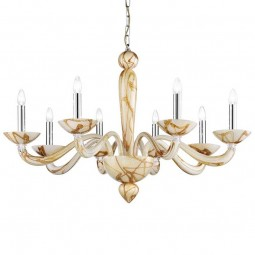 """Semplice"" Murano glass chandelier"