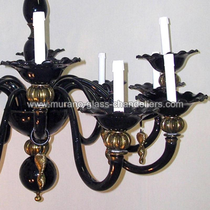 perla lustre en cristal de murano murano glass chandeliers. Black Bedroom Furniture Sets. Home Design Ideas