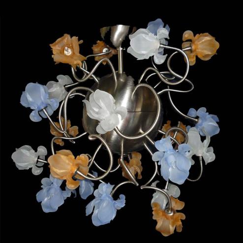 """Fiori di Seta"" lustre en cristal de Murano - 16 lumières"