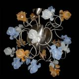 """Fiori di Seta"" Murano glass chandelier - 16 lights"