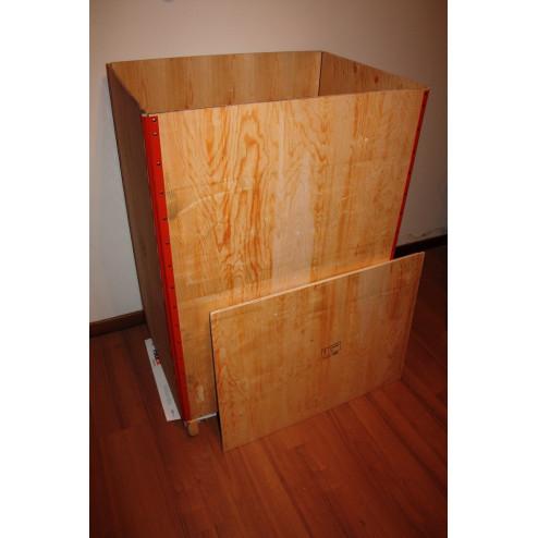 Embalaje en caja de madera