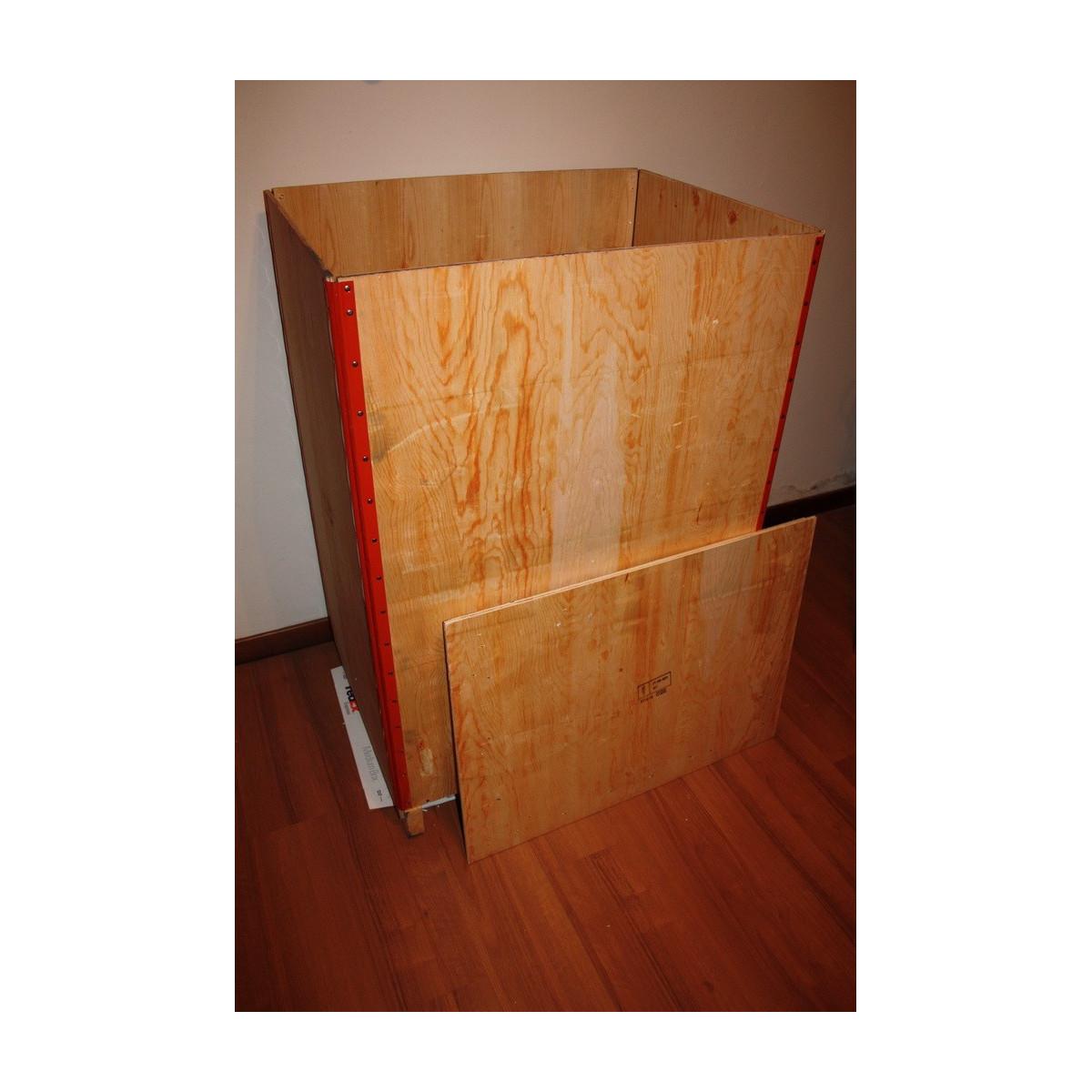 Emballage en boîte en bois