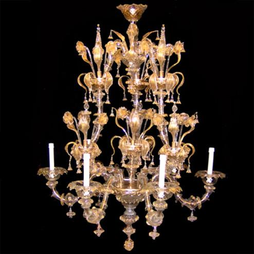 """""""Arianna"""" lustre en cristal de Murano"""