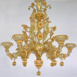 """Midna"" Murano glass chandelier"