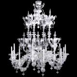 """Alida"" Murano glass chandelier"