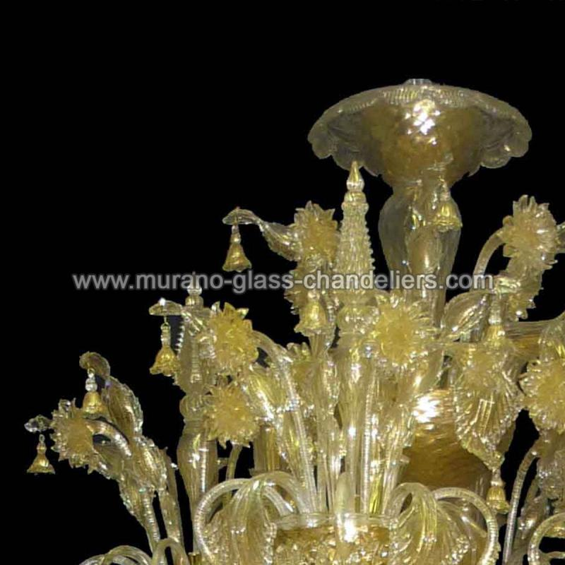 adelchi lustre en cristal de murano murano glass. Black Bedroom Furniture Sets. Home Design Ideas