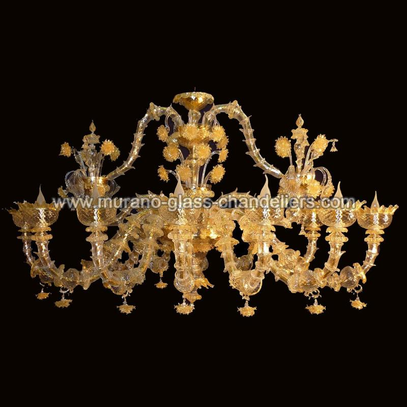 adriana lustre en cristal de murano murano glass chandeliers. Black Bedroom Furniture Sets. Home Design Ideas