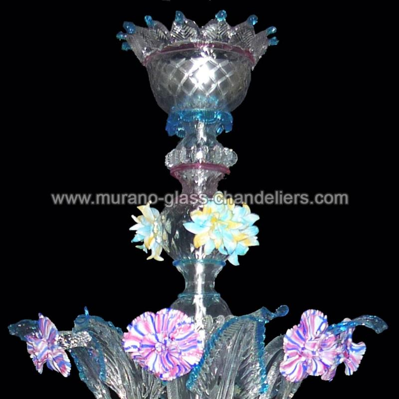 berenice lustre en cristal de murano murano glass chandeliers. Black Bedroom Furniture Sets. Home Design Ideas