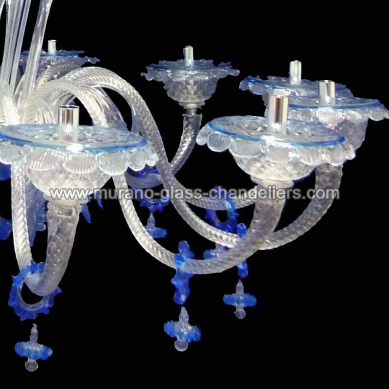 griselda lustre en cristal de murano murano glass chandeliers. Black Bedroom Furniture Sets. Home Design Ideas