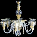 """Gloria"" Murano glass chandelier"