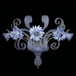 """Lilya"" Murano glass sconce - 5 lights -"