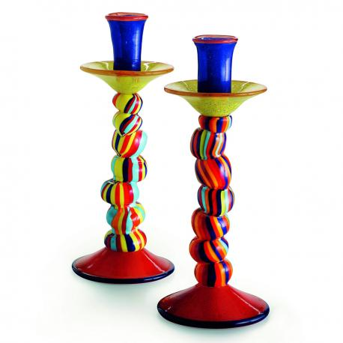 """Candelabro"" Murano glass sculpture - polychrome"
