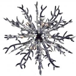 """Barriera Corallina"" Murano glass pendant light"