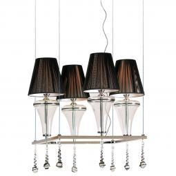 """Dalila"" Murano glass chandelier"