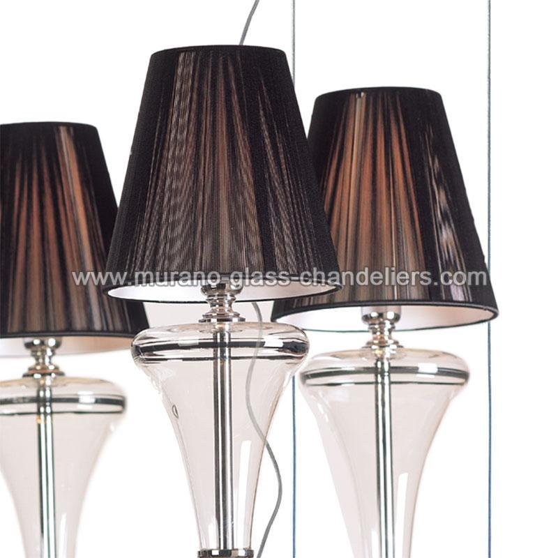 dalila lustre en cristal de murano murano glass chandeliers. Black Bedroom Furniture Sets. Home Design Ideas