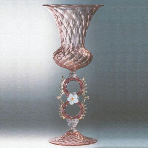 """Margherita Rosa"" verre en cristal de Murano"