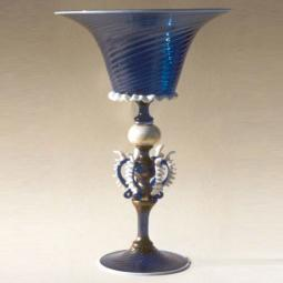 """Ardito"" Murano drinking glass - blue"