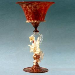 """Dragone"" Murano drinking glass"