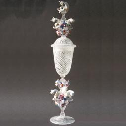 """Delfini"" Murano Trinkglas"