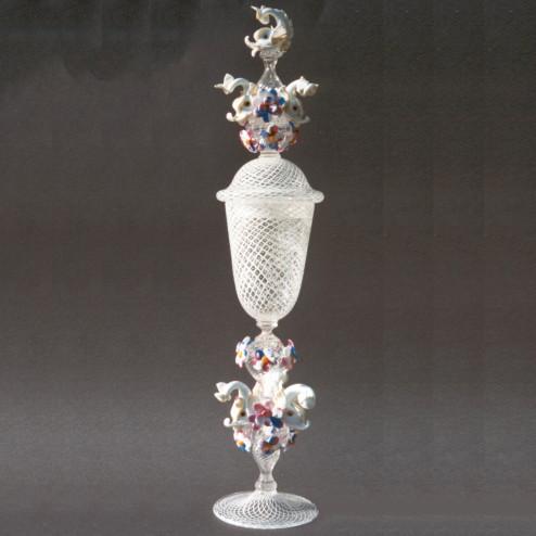 """""""Delfini"""" verre en cristal de Murano"""