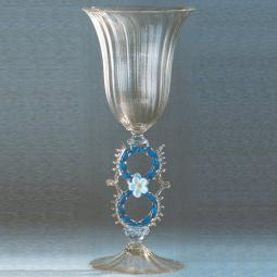 """Cristallino"" Murano drinking glass - transparent"