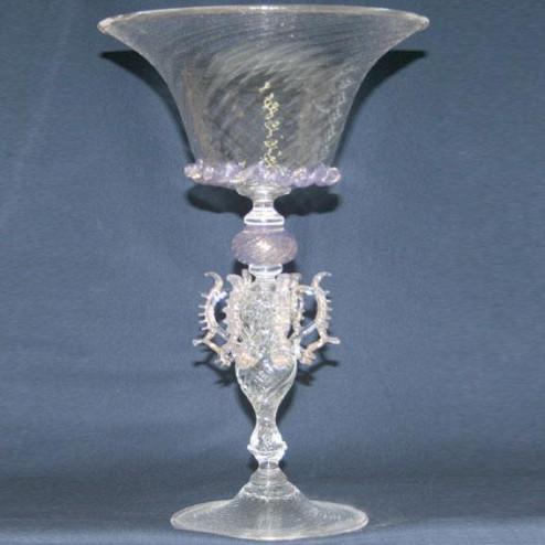 """""""Coppa della Regina"""" verre en cristal de Murano"""