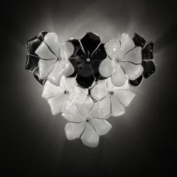 """Loto"" Murano glass sconce"
