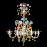 """Tripudio"" Murano glass chandelier"