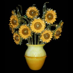 """Girasoli"" Murano glass sconce"