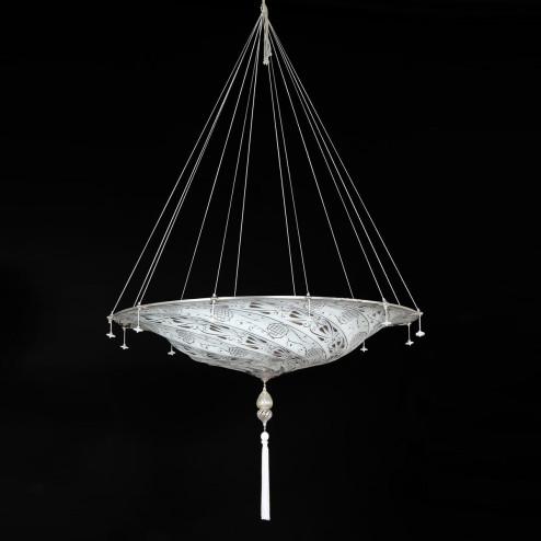 """""""Dubai"""" lámpara colgante en cristal de Murano"""