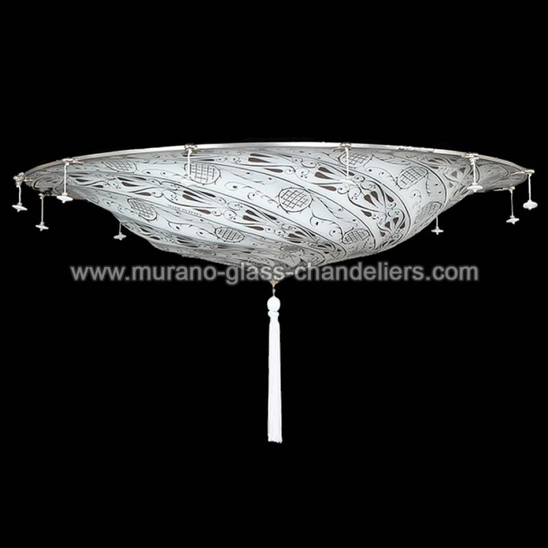 """Dubai"" Murano Glass Ceiling Light"