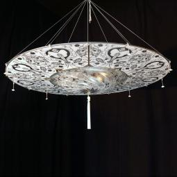 """Betlemme"" Murano glass pendant light"