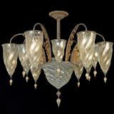 """Medina"" Murano glass chandelier"