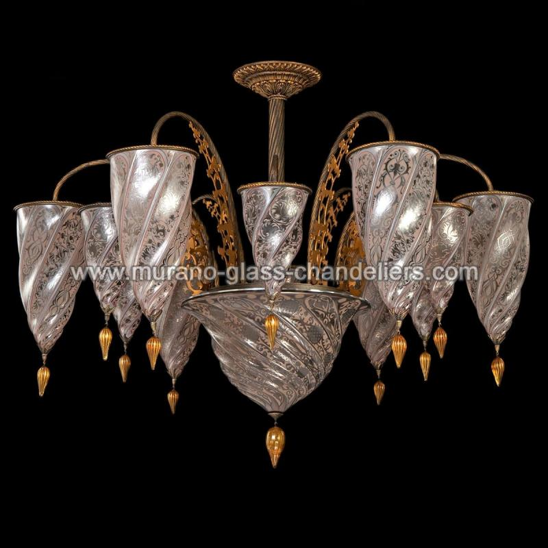medina murano glas kronleuchter murano glass chandeliers. Black Bedroom Furniture Sets. Home Design Ideas