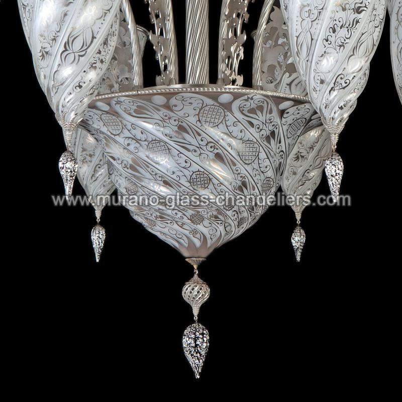 jibla lustre en cristal de murano murano glass chandeliers. Black Bedroom Furniture Sets. Home Design Ideas
