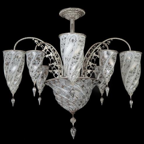 """""""Giza"""" lampara de araña de Murano"""