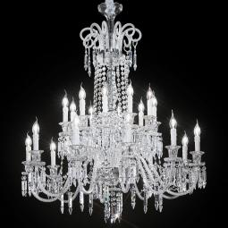 """Cima"" large venetian crystal chandelier"