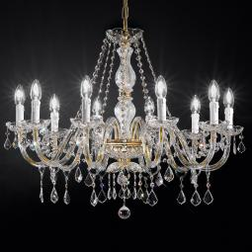 """Botticelli"" lampara veneciana en cristal"