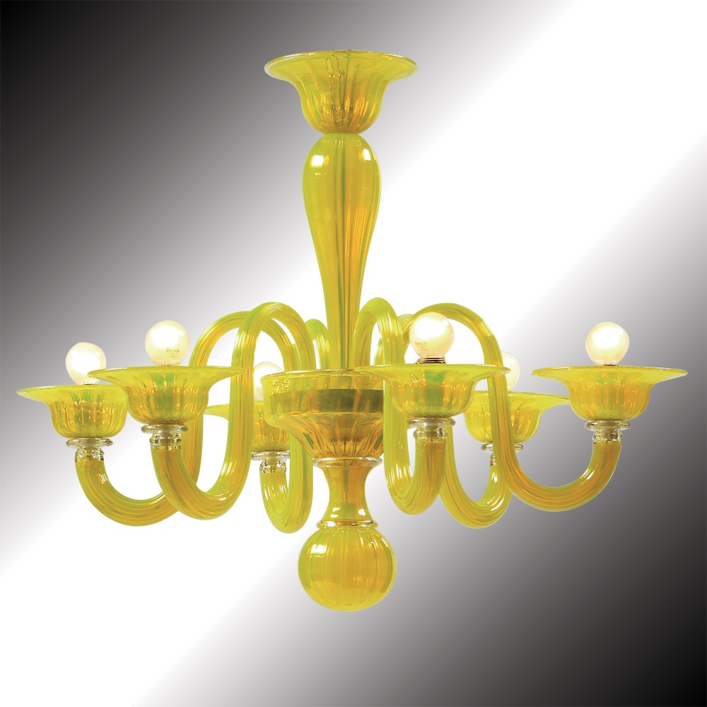 Limone yellow murano glass chandelier murano glass chandeliers limone yellow murano glass chandelier murano glass chandeliers aloadofball Gallery