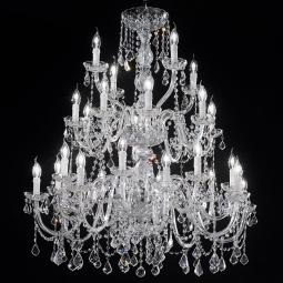 """Botticelli"" large venetian crystal chandelier"